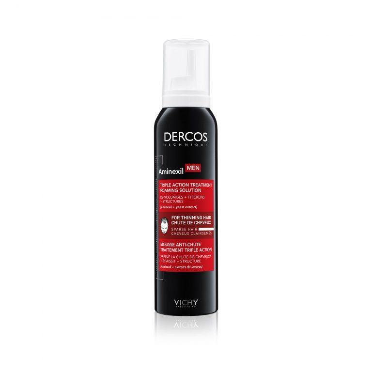 Vichy Dercos Aminexil Средство против выпадения волос для мужчин в формате пены