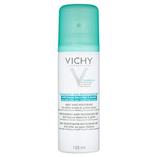 Vichy Deodorants Дезодорант-аэрозоль против белых и желтых пятен 48ч