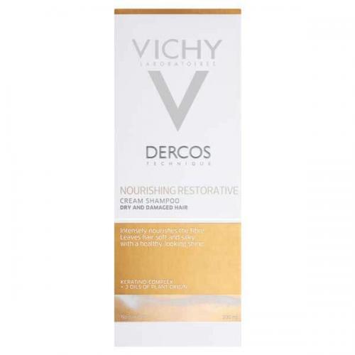 Vichy Dercos Шампунь-крем питательно-восстанавливающий