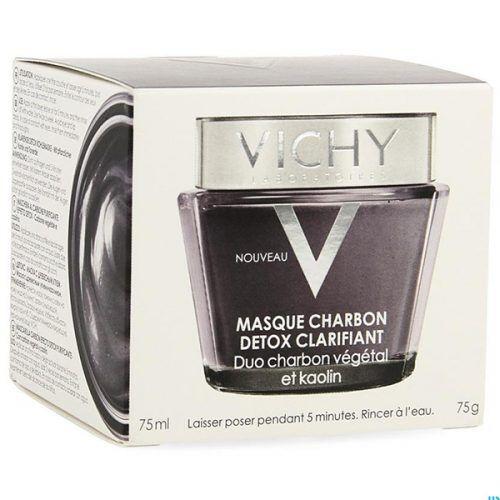 Vichy Purete Thermale Детокс-маска с древесным углем