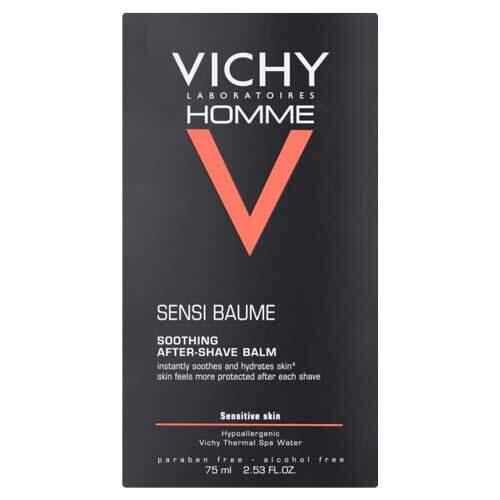 Vichy Homme Бальзам после бритья для чувствительной кожи смягчающий