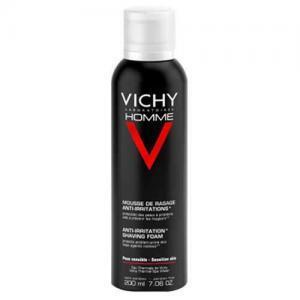 Vichy Homme Пена для бритья против раздражения кожи, 200 мл
