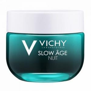 Vichy Slow Age Крем и маска ночное восстановление для лица для оксигенации кожи