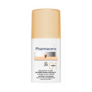 Pharmaceris F Intense Coverage Fluid SPF 20, Ivory, 30ml