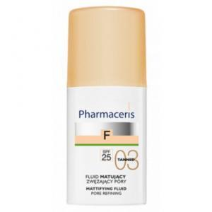 Pharmaceris F Pore refining Mattifying Fluid SPF 25, Tanned, 30 ml