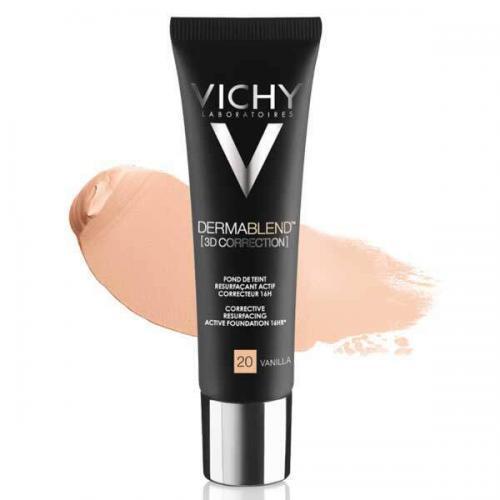 VICHY DERMABLEND Тональная основа корректирующая макияж 3D Vanilla