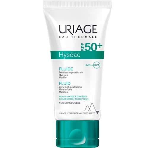 Uriage Эмульсия солнцезащитная SPF 50+ Hyséac