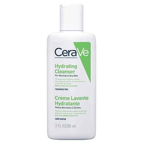 CeraVe Крем-гель увлажняющий очищающий для нормальной и сухой кожи