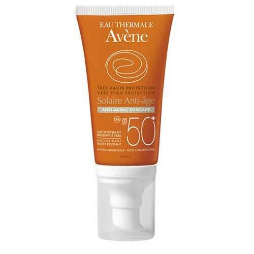 Avene Антивозрастное солнцезащитное средство SPF50+