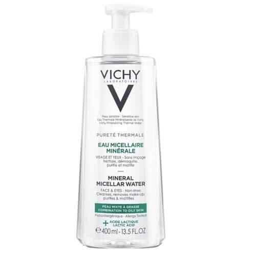 Vichy Мицеллярная вода с минералами для жирной и комбинированной кожи