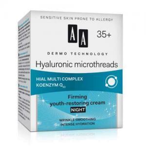 """AA Dermo Technology """"Гиалуроновые микронити"""" Ночной укрепляющий омолаживающий крем"""