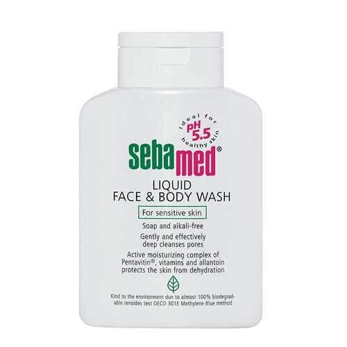 Sebamed Гель для лица и тела очищающий Sensitive Skin