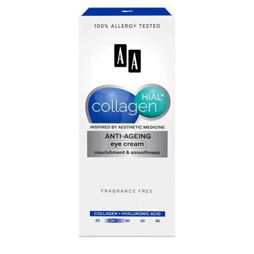 AA Collagen Hial+ Антивозрастной крем для кожи вокруг глаз