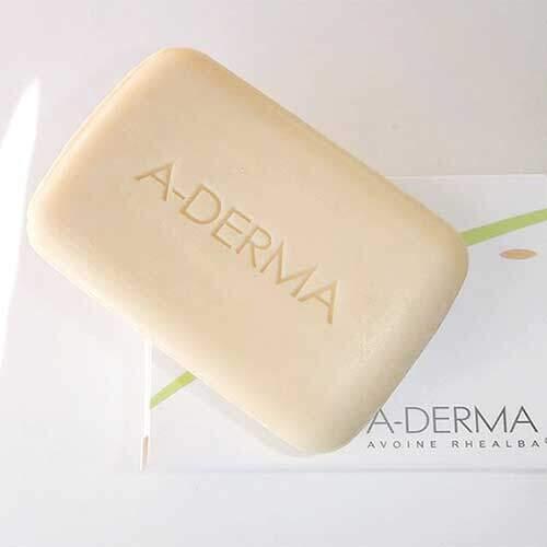 A-derma Мыло с молочком овса, 100г