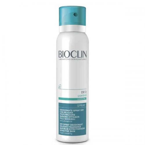 Bioclin Deo Control Сухой спрей-дезодорант максимальный эффект