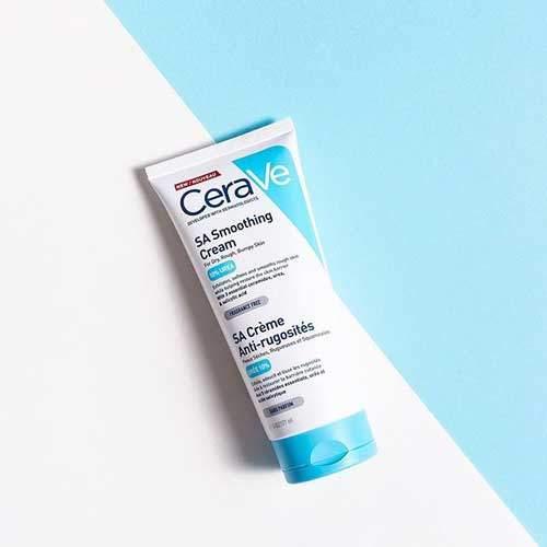 CeraVe SA Крем смягчающий для сухой, огрубевшей и неровной кожи