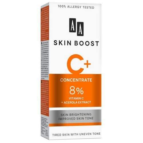 AA Skin Boost C+ Сыворотка с 8 % витамин С + экстракт ацеролы