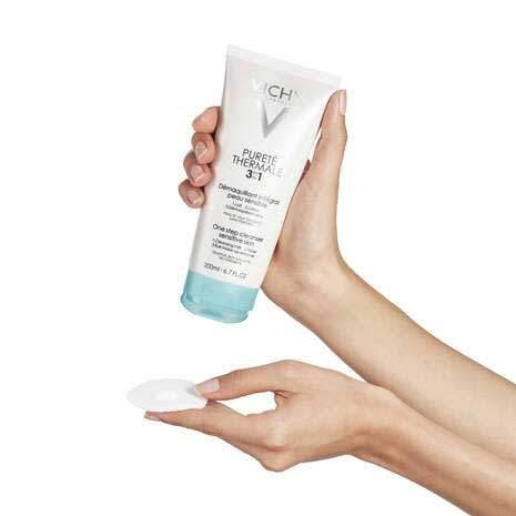 Vichy Очищающее универсальное средство 3в1 для чувствительной кожи и глаз Purete Thermale