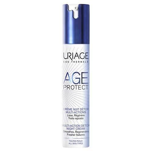 Uriage Крем-Детокс ночной для лица, многофункциональный Age Protect