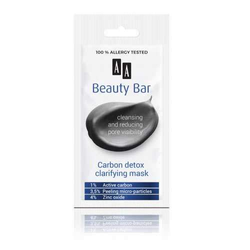 AA Beauty Bar Очищающая маска с углем, 8 мл