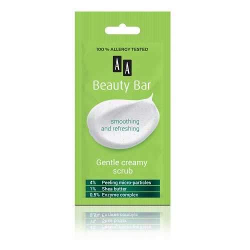AA Beauty Bar Кремовый мелкозернистый пилинг для глубокого очищения, 8 мл