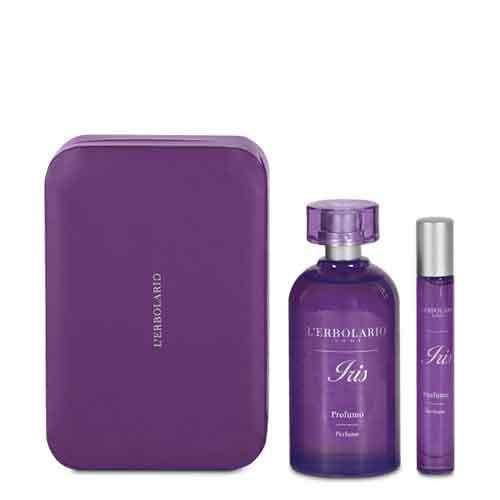 """L'Erbolario """"Iris"""" Подарочный набор Парфюмерная вода 125мл + 10мл"""