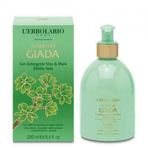 """L'Erbolario """"Albero di Giada"""" Очищающий гель для лица и рук, 280 мл"""