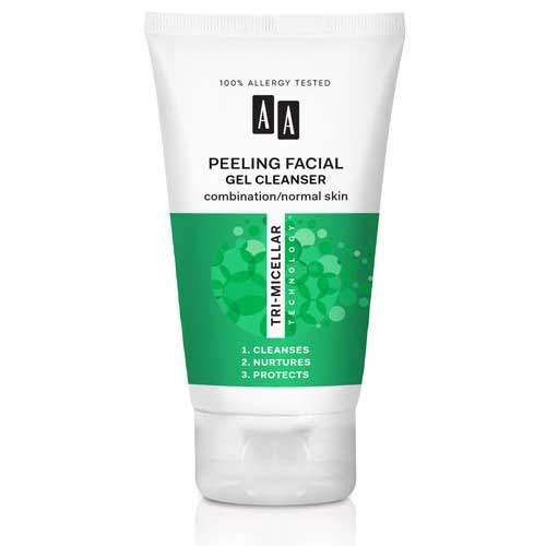 AA Tri-Micellar Technology Гель-скраб очищающий для комбинированной и нормальной кожи