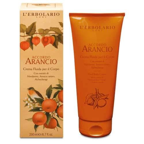 "L'Erbolario ""Accordo Arancio"" Крем-флюид для тела 200 мл"