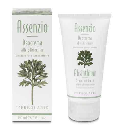 """L'Erbolario """"Assenzio"""" Крем-дезодорант для тела с 3 видами полыни"""