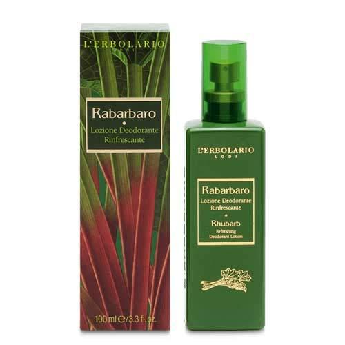 "L'Erbolario ""Rabarbaro"" Освежающий дезодорант-лосьон, 100 мл"
