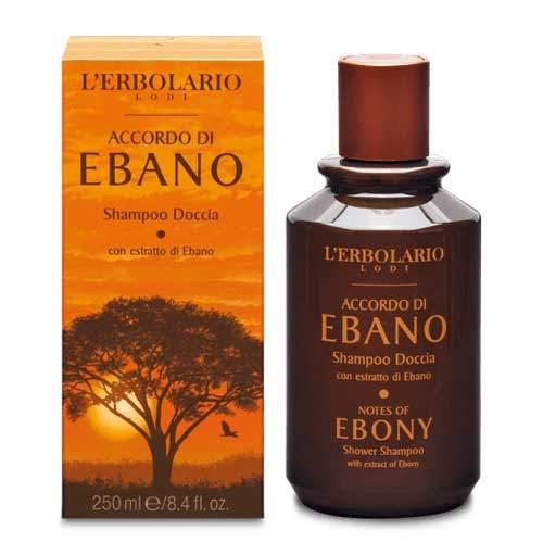 "L'Erbolario ""Accordo di Ebano"" Шампунь-гель для душа,"