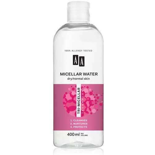 AA Tri-Micellar Technology Мицеллярная жидкость для нормальной и сухой кожи