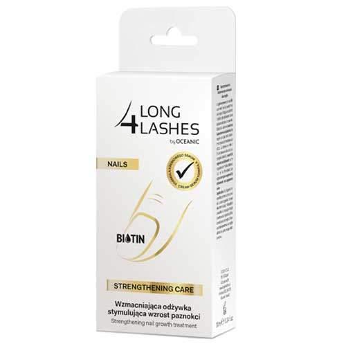 Long4Lashes Nails Интенсивно укрепляющая сыворотка для ногтей, 10 мл