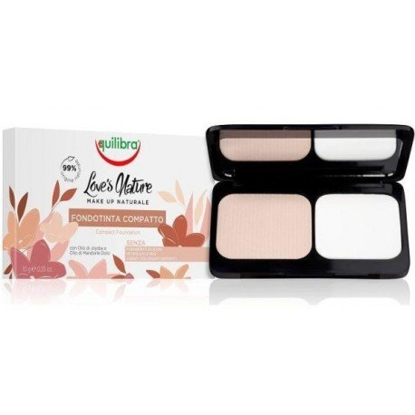 Equilibra Love's Nature Compact foundation - Very Light