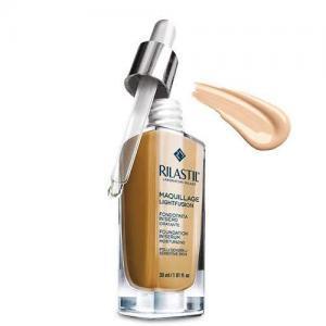 Rilastil Maquillage Lightfusion Легкая увлажняющая тональная основа-сыворотка SPF15, тон 10, 30 мл