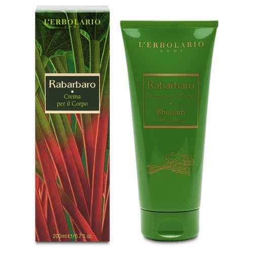 "L'Erbolario ""Rabarbaro"" Крем для тела, 200 мл"
