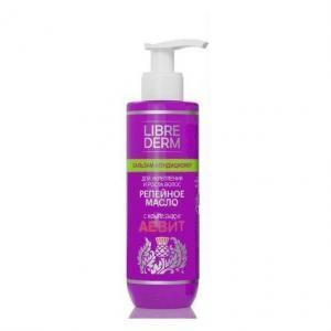 Librederm Бальзам-кондиционер Репейное масло для укрепления и роста волос с комплексом AEVIT