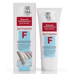 Librederm Бальзам питательный для кожи головы и волос Vitamin F, 200 мл