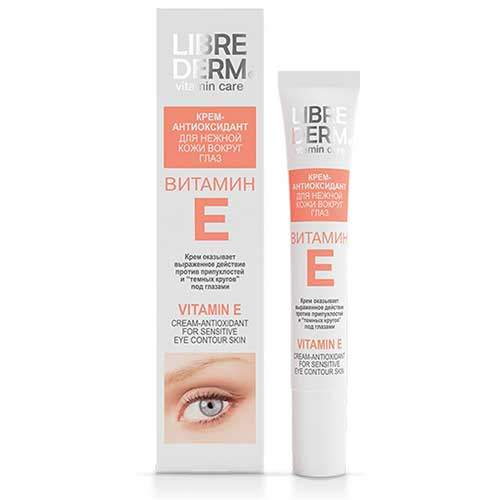 Librederm Крем-антиоксидант для нежной кожи вокруг глаз Vitamin E