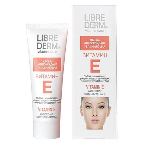 Librederm Маска-антиоксидант увлажняющая Vitamin E