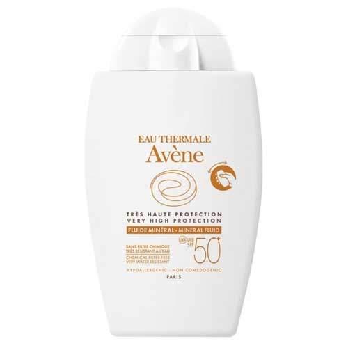 Avene Флюид минеральный SPF 50+, 40мл