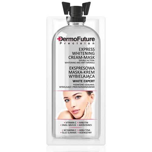 DermoFuture Отбеливающая крем-маска с экспресс-действием, 12 мл