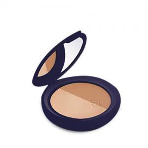 Rilastil Maquillage Компактная двойная пудра с эффектом сияния SPF15