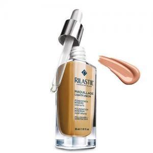 Rilastil Maquillage Lightfusion Антивозрастная тональная основа-сыворотка SPF15, тон 30