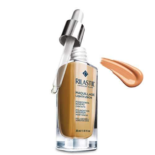 Rilastil Maquillage Lightfusion Тональная основа-сыворотка SPF15, тон 40