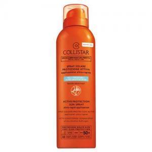 Collistar Спрей солнцезащитный SPF 50 для лица, тела и волос для гиперчувствительной кожи водостойкий Speciale Abbronzatura Perfetta, 150мл