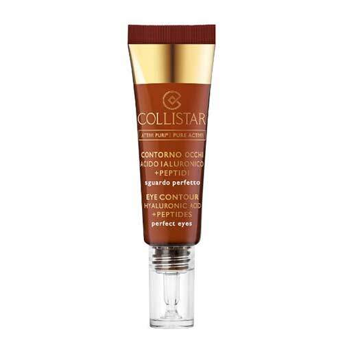 Collistar Средство для ухода за кожей вокруг глаз с гиалуроновой кислотой и пептидами Attivi Puri