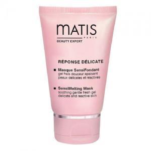Matis Гель-маска для лица и шеи освежающая и успокаивающая для восприимчивой и чувствительной кожи Reponse Delicate