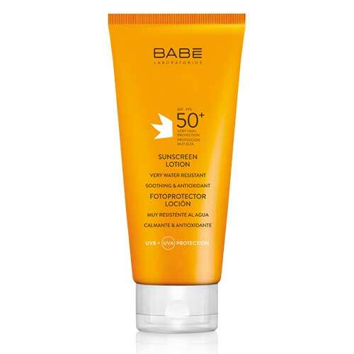 BABE Солнцезащитный лосьон SPF 50+, 200мл (Бабе)